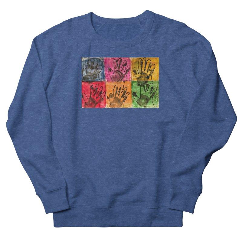 Warhol Hands Men's Sweatshirt by Access Art's Youth Artist Shop