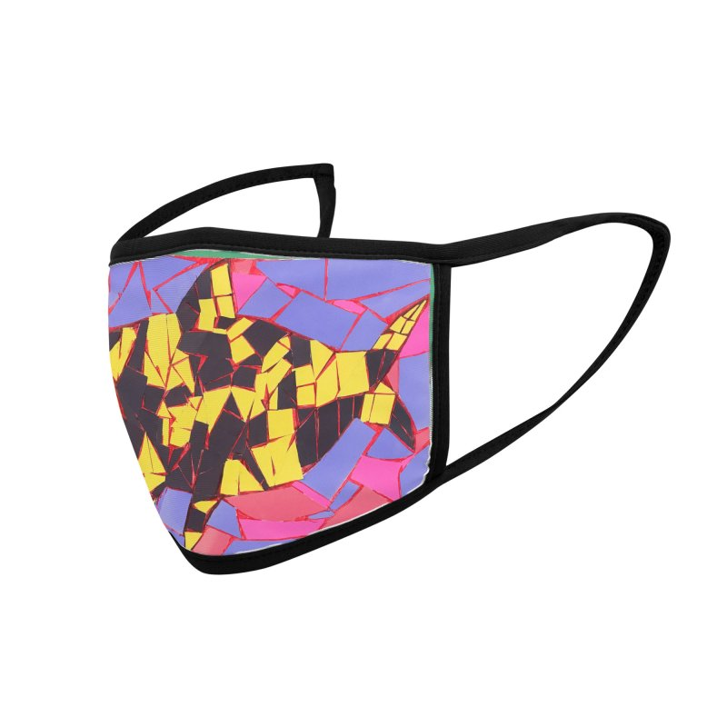 Fragment Fish Accessories Face Mask by Access Art's Youth Artist Shop