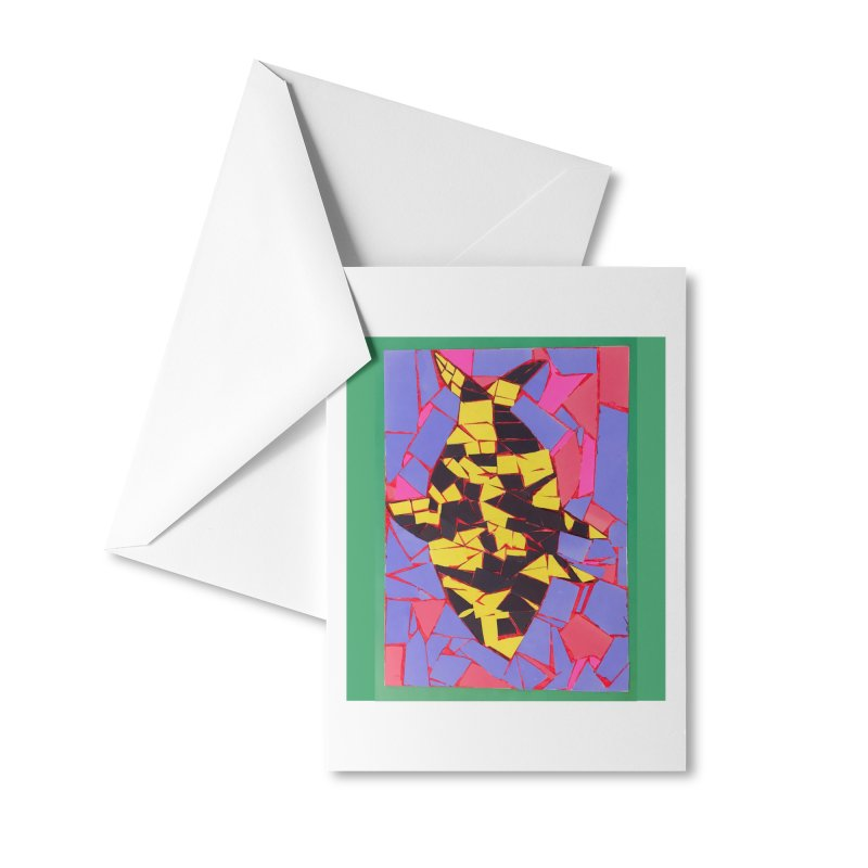 Fragment Fish Accessories Greeting Card by Access Art's Youth Artist Shop