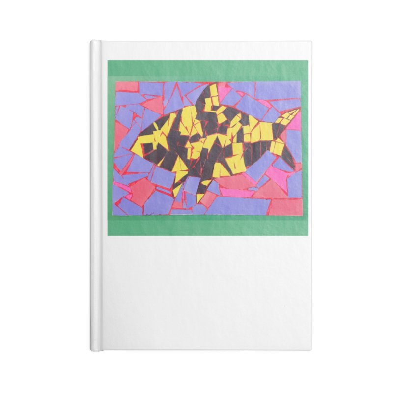Fragment Fish Accessories Notebook by Access Art's Youth Artist Shop