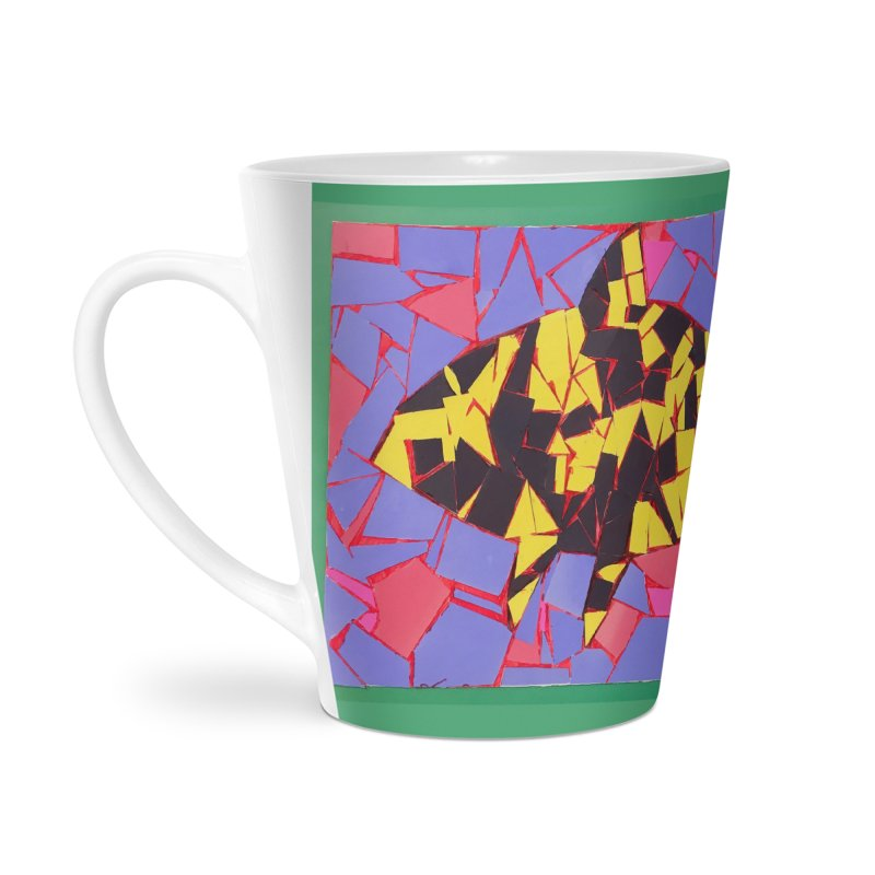 Fragment Fish Accessories Mug by Access Art's Youth Artist Shop