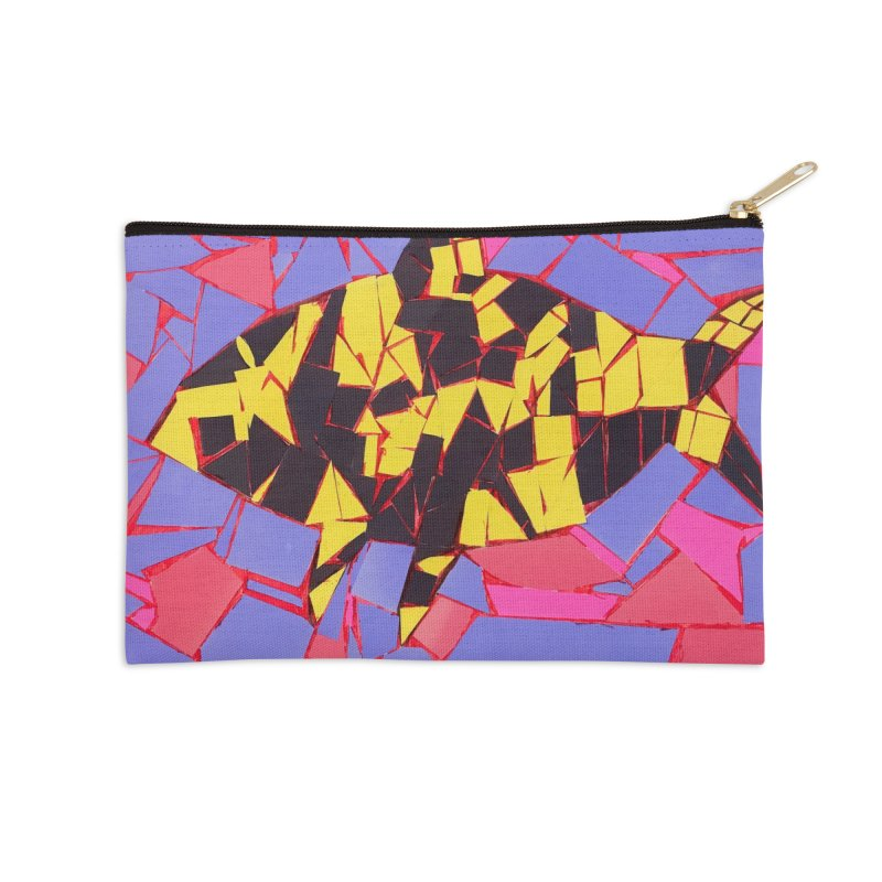 Fragment Fish Accessories Zip Pouch by Access Art's Youth Artist Shop