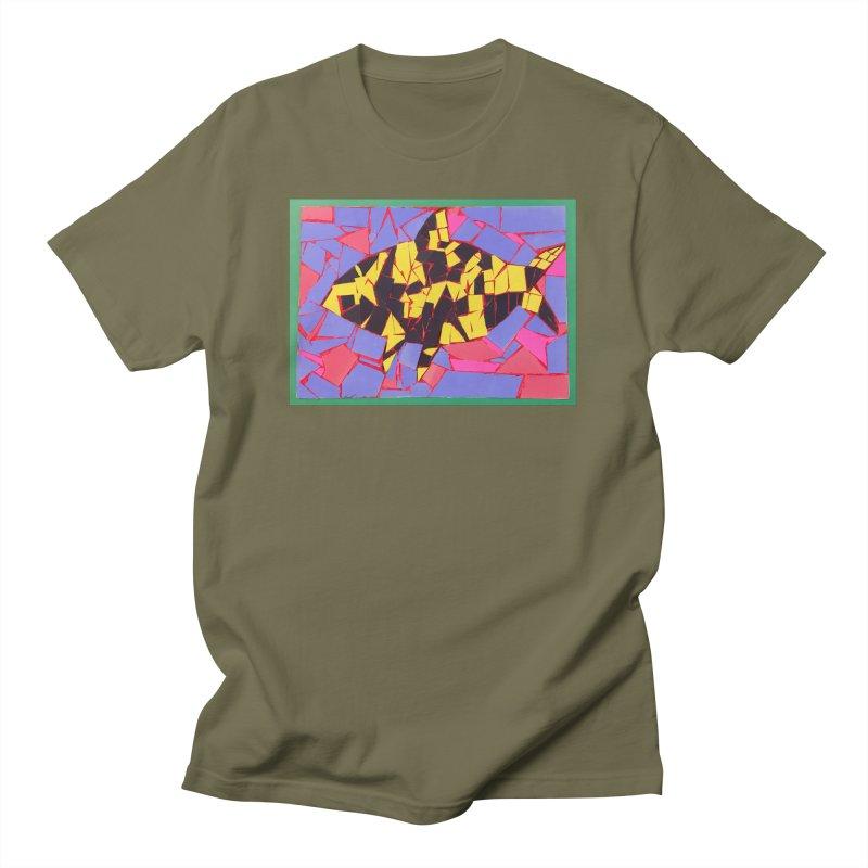 Fragment Fish Men's T-Shirt by Access Art's Youth Artist Shop