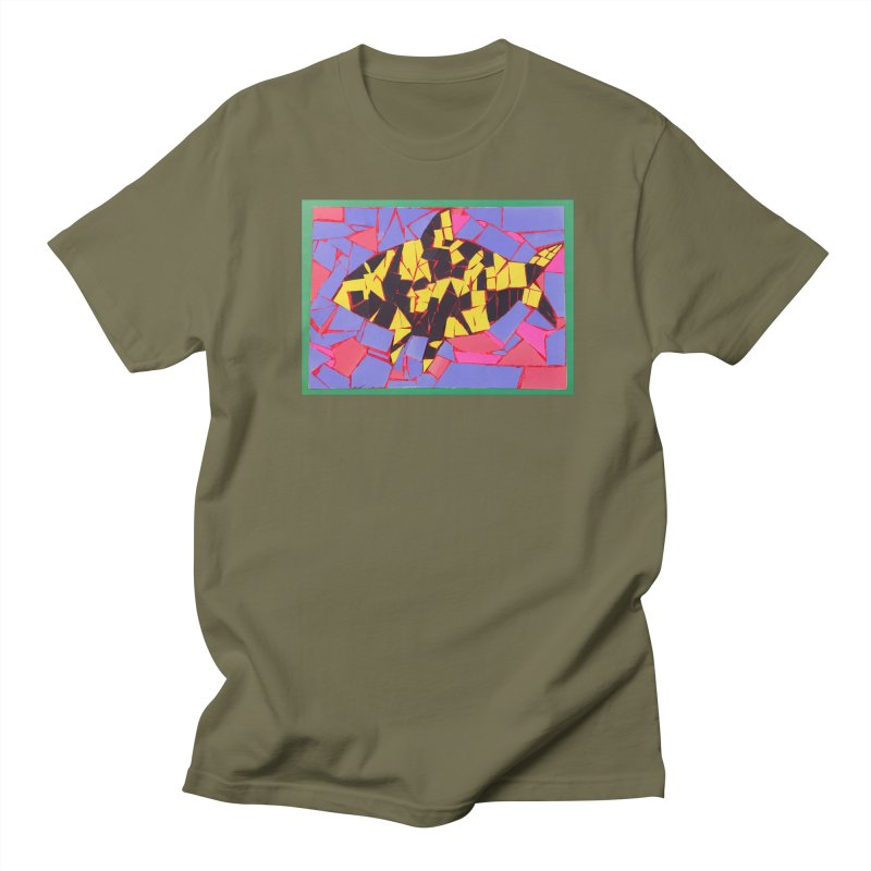 Fragment Fish Men's T-Shirt by Access Art's Youth Artist Shop