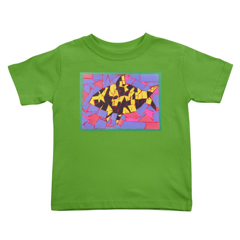 Fragment Fish Kids Toddler T-Shirt by Access Art's Youth Artist Shop