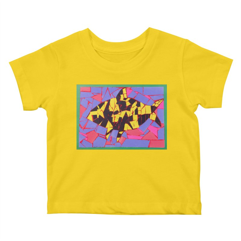 Fragment Fish Kids Baby T-Shirt by Access Art's Youth Artist Shop