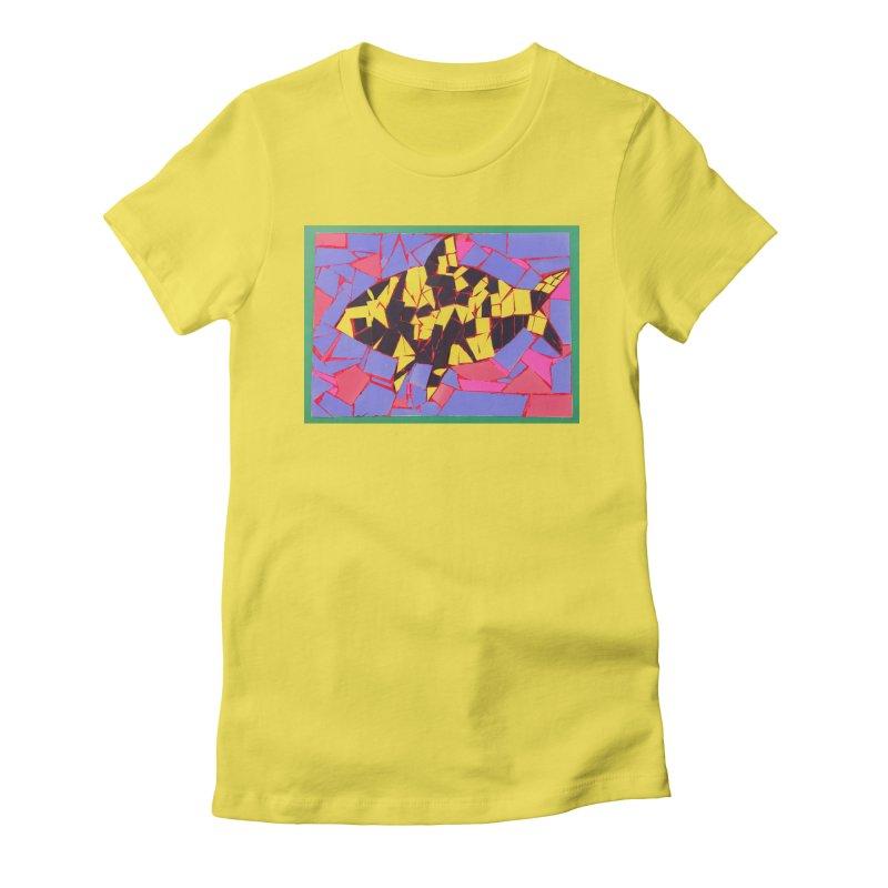 Fragment Fish Women's T-Shirt by Access Art's Youth Artist Shop