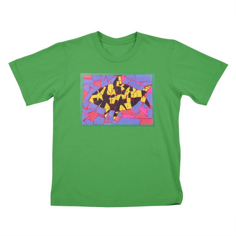 Fragment Fish Kids T-Shirt by Access Art's Youth Artist Shop