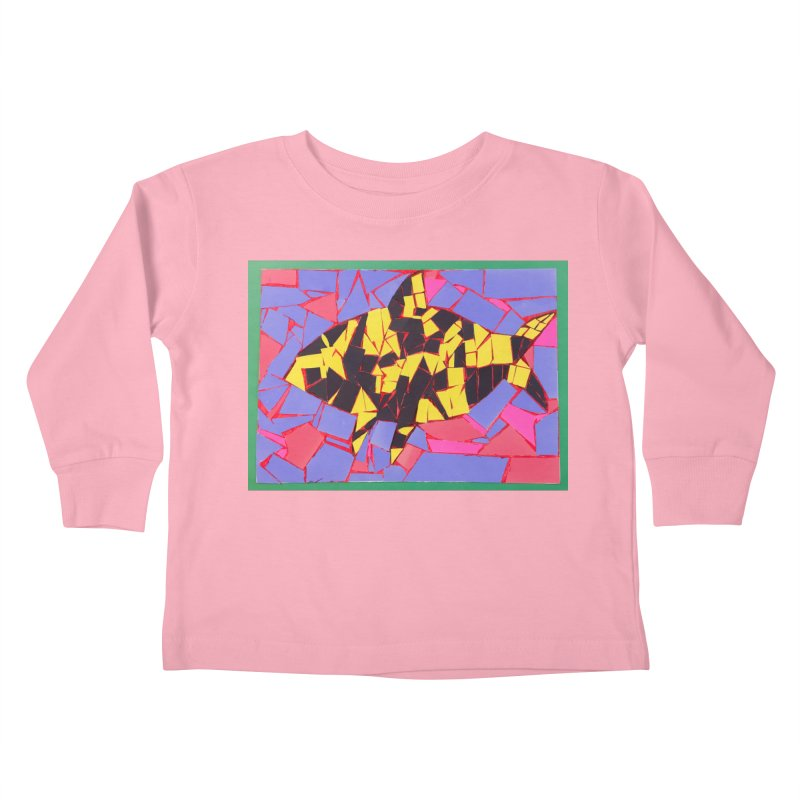 Fragment Fish Kids Toddler Longsleeve T-Shirt by Access Art's Youth Artist Shop