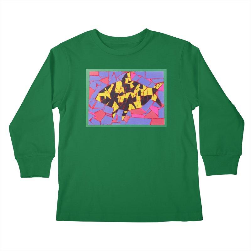 Fragment Fish Kids Longsleeve T-Shirt by Access Art's Youth Artist Shop