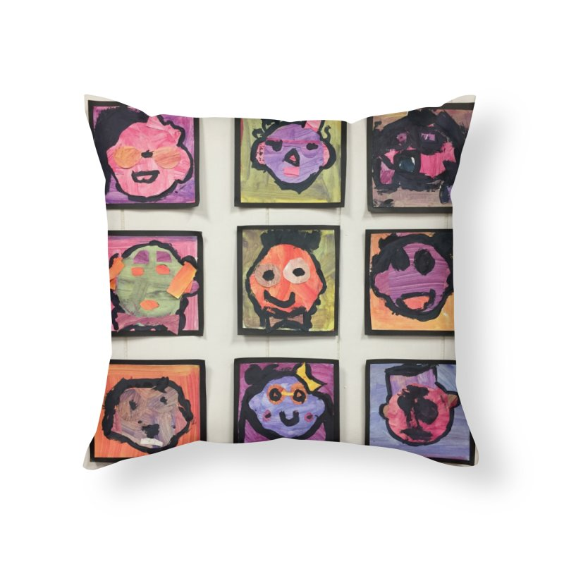 Okay To Be Different Home Throw Pillow by Access Art's Youth Artist Shop