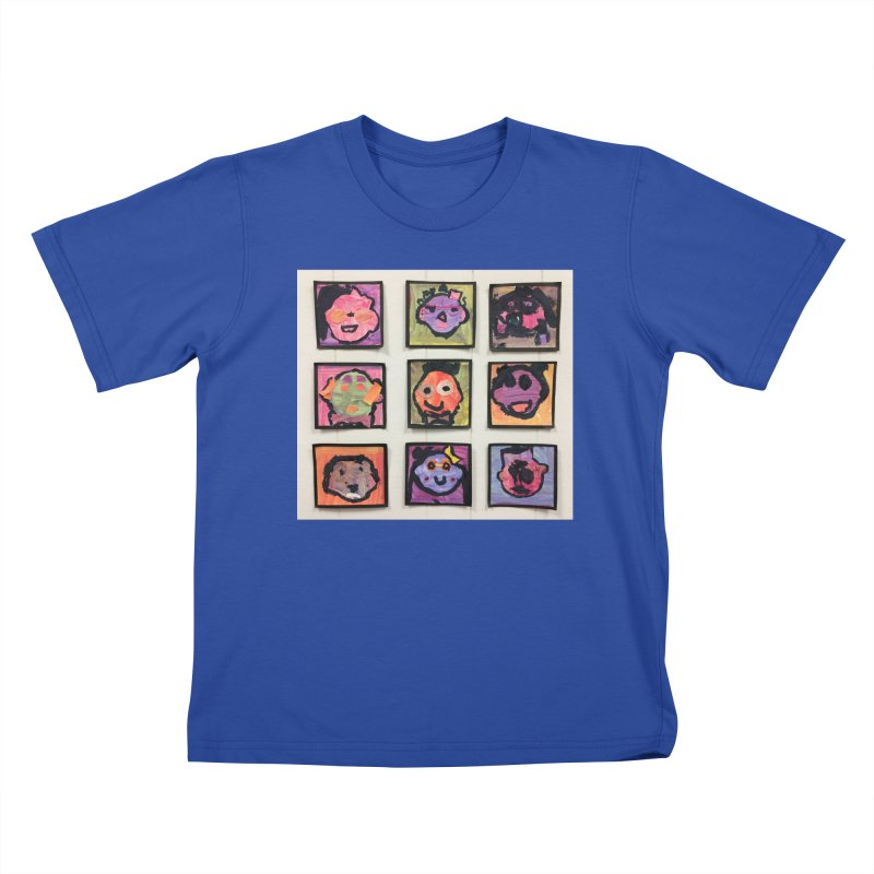 Okay To Be Different Kids T-Shirt by Access Art's Youth Artist Shop
