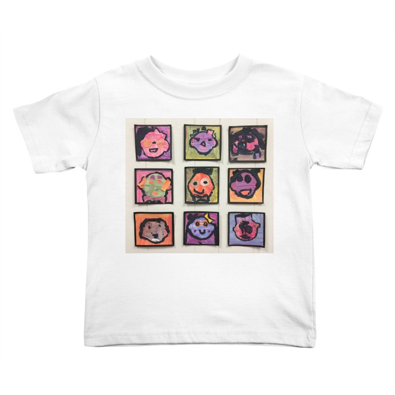 Okay To Be Different Kids Toddler T-Shirt by Access Art's Youth Artist Shop