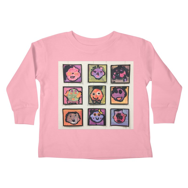 Okay To Be Different Kids Toddler Longsleeve T-Shirt by Access Art's Youth Artist Shop
