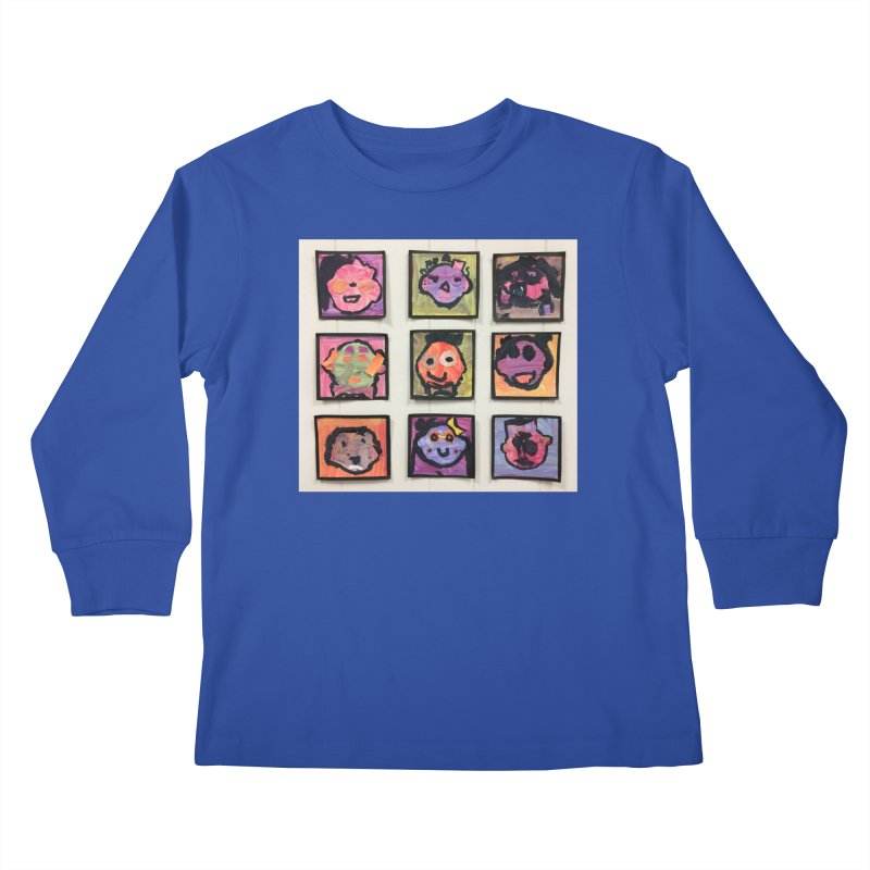 Okay To Be Different Kids Longsleeve T-Shirt by Access Art's Youth Artist Shop