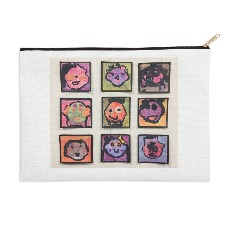 Okay To Be Different Accessories Zip Pouch by Access Art's Youth Artist Shop