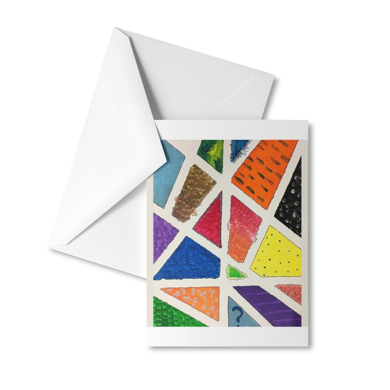 Perfect Lines Accessories Greeting Card by Access Art's Youth Artist Shop