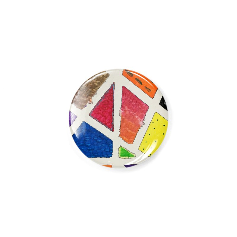 Perfect Lines Accessories Button by Access Art's Youth Artist Shop