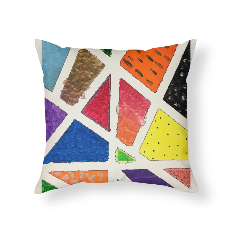 Perfect Lines Home Throw Pillow by Access Art's Youth Artist Shop