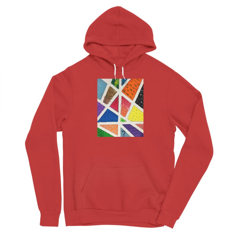 Perfect Lines Women's Pullover Hoody by Access Art's Youth Artist Shop