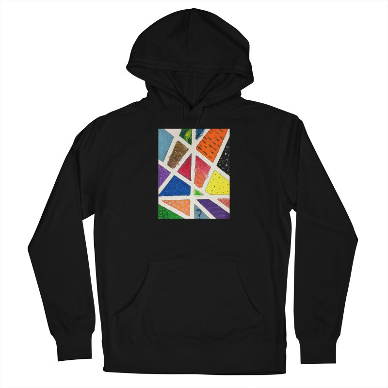 Perfect Lines Men's Pullover Hoody by Access Art's Youth Artist Shop