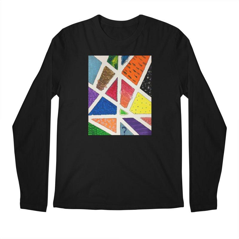 Perfect Lines Men's Longsleeve T-Shirt by Access Art's Youth Artist Shop
