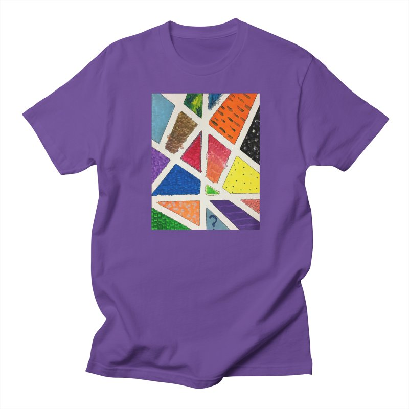 Perfect Lines Men's T-Shirt by Access Art's Youth Artist Shop