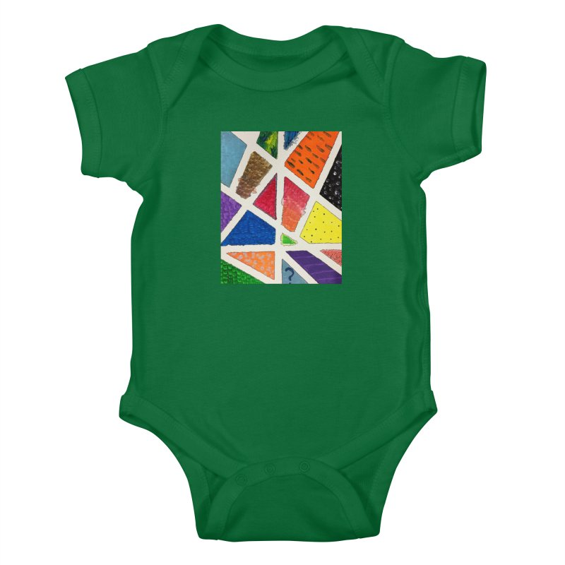 Perfect Lines Kids Baby Bodysuit by Access Art's Youth Artist Shop