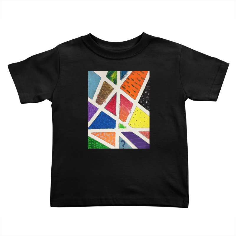 Perfect Lines Kids Toddler T-Shirt by Access Art's Youth Artist Shop