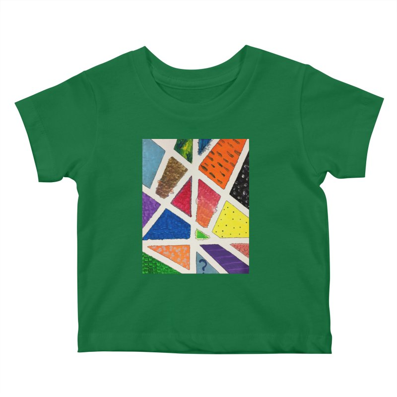 Perfect Lines Kids Baby T-Shirt by Access Art's Youth Artist Shop