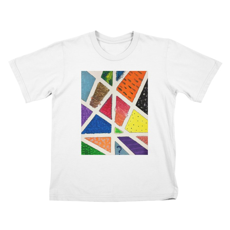 Perfect Lines Kids T-Shirt by Access Art's Youth Artist Shop
