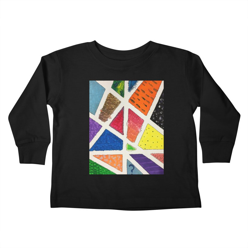 Perfect Lines Kids Toddler Longsleeve T-Shirt by Access Art's Youth Artist Shop
