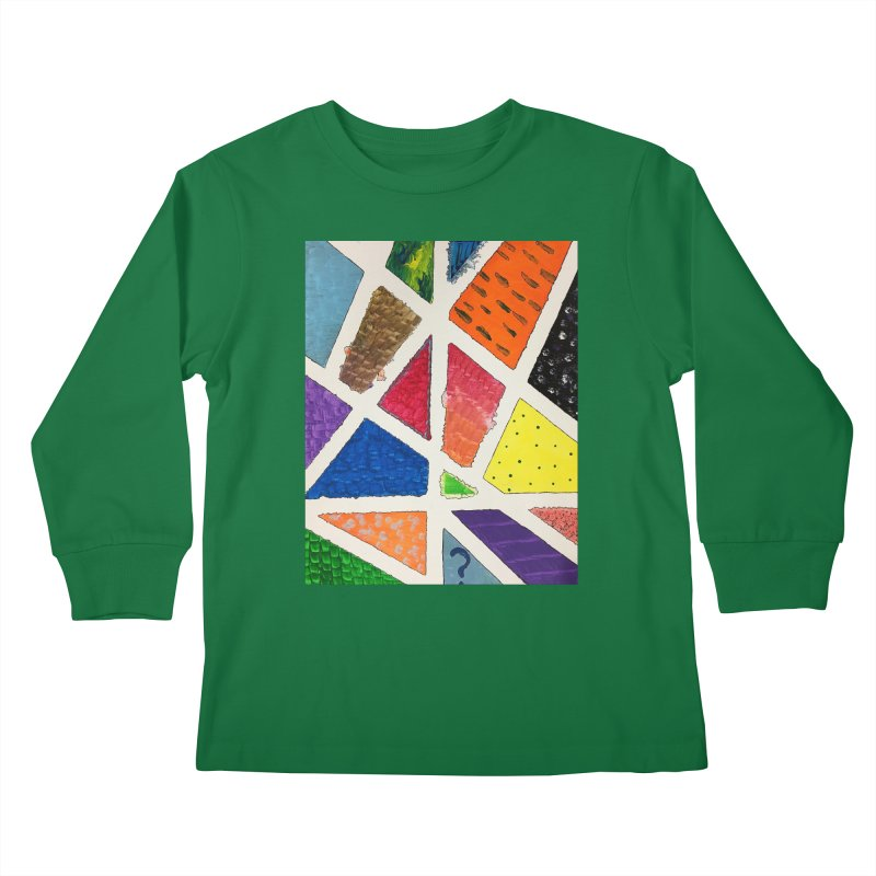 Perfect Lines Kids Longsleeve T-Shirt by Access Art's Youth Artist Shop