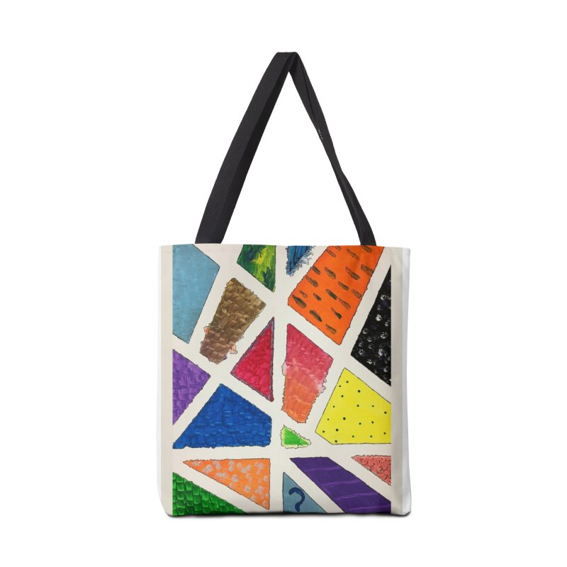 Perfect Lines Accessories Bag by Access Art's Youth Artist Shop