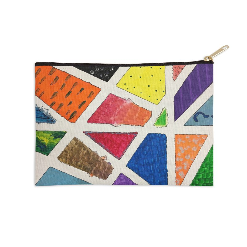Perfect Lines Accessories Zip Pouch by Access Art's Youth Artist Shop