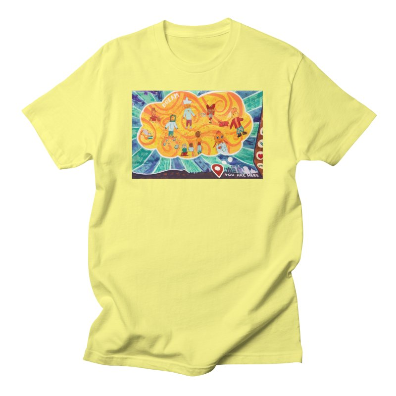 Dream: You Are Here Men's T-Shirt by Access Art's Youth Artist Shop