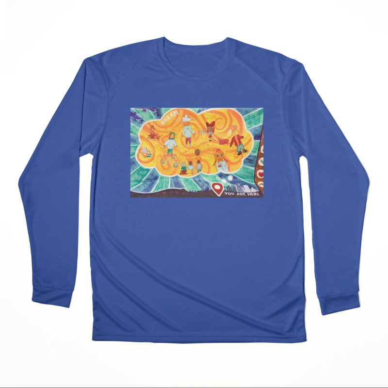 Dream: You Are Here Women's Longsleeve T-Shirt by Access Art's Youth Artist Shop