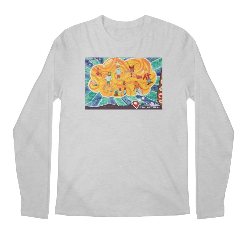 Dream: You Are Here Men's Longsleeve T-Shirt by Access Art's Youth Artist Shop
