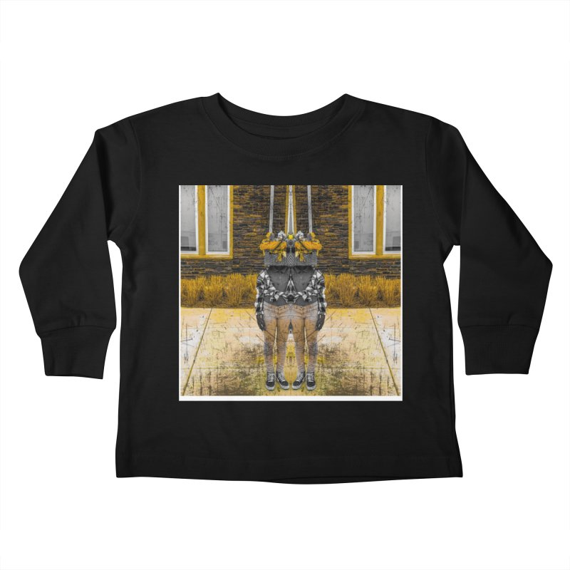 I See Your Vision Kids Toddler Longsleeve T-Shirt by Access Art's Youth Artist Shop