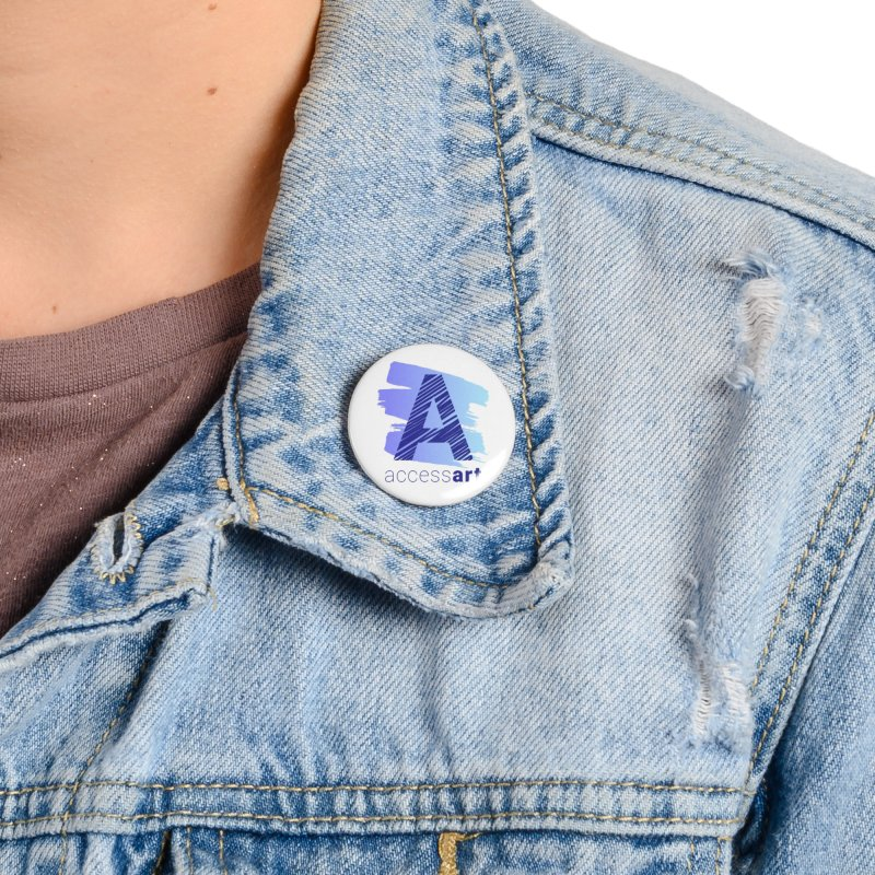 Access Art Connects Accessories Button by Access Art's Youth Artist Shop