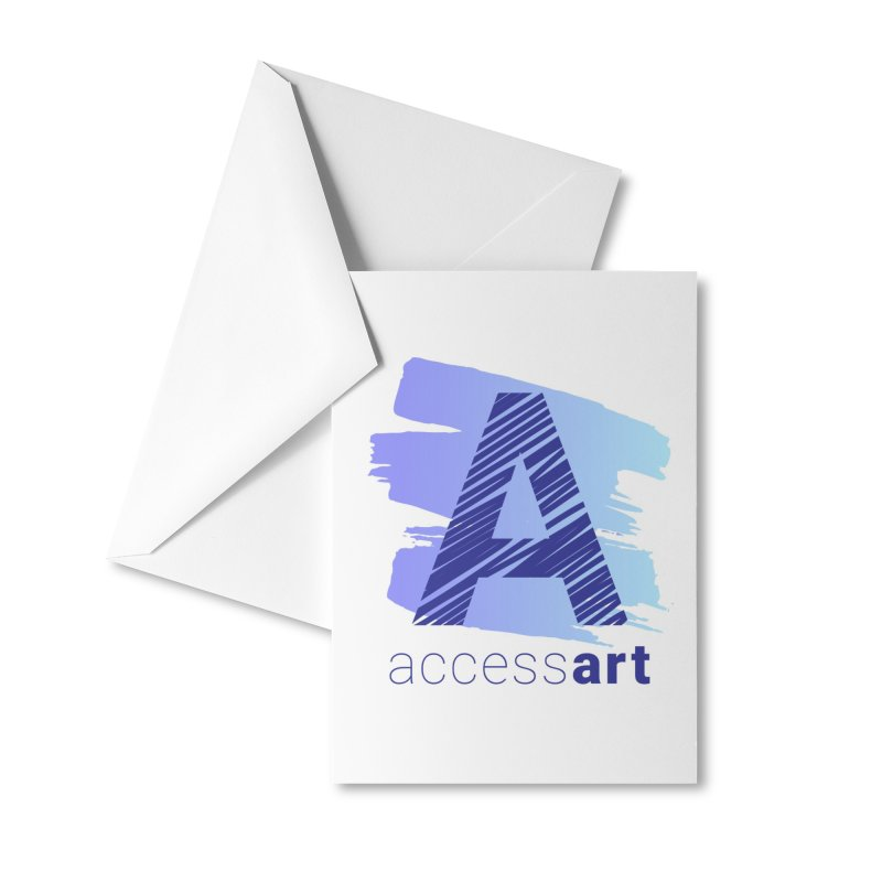 Access Art Connects Accessories Greeting Card by Access Art's Youth Artist Shop