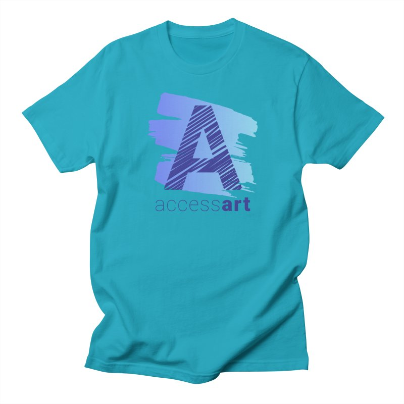 Access Art Connects Men's T-Shirt by Access Art's Youth Artist Shop