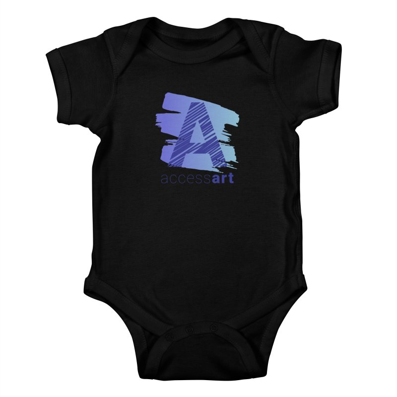 Access Art Connects Kids Baby Bodysuit by Access Art's Youth Artist Shop
