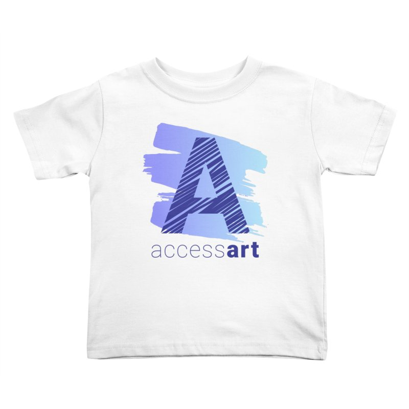 Access Art Connects Kids Toddler T-Shirt by Access Art's Youth Artist Shop