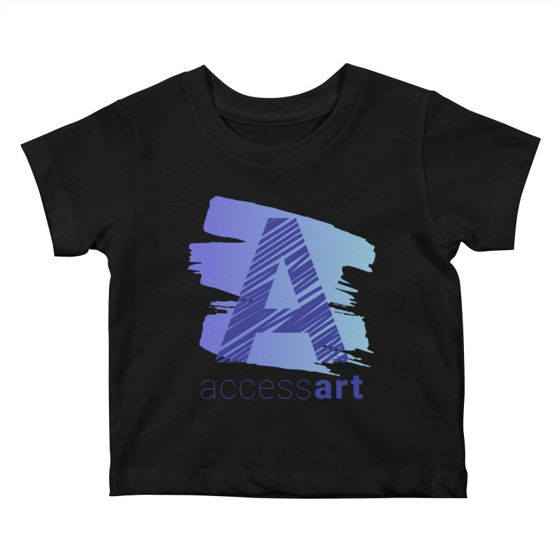 Access Art Connects Kids Baby T-Shirt by Access Art's Youth Artist Shop