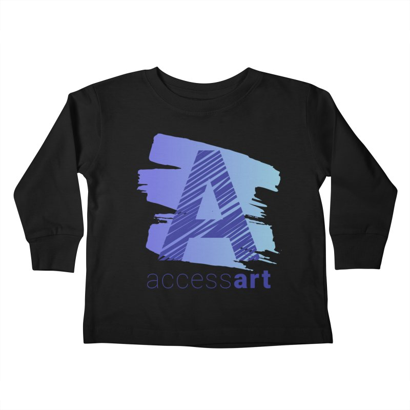 Access Art Connects Kids Toddler Longsleeve T-Shirt by Access Art's Youth Artist Shop