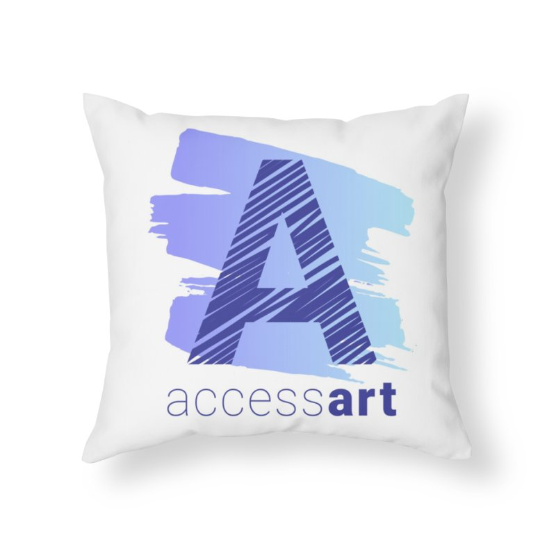 Access Art Connects Home Throw Pillow by Access Art's Youth Artist Shop