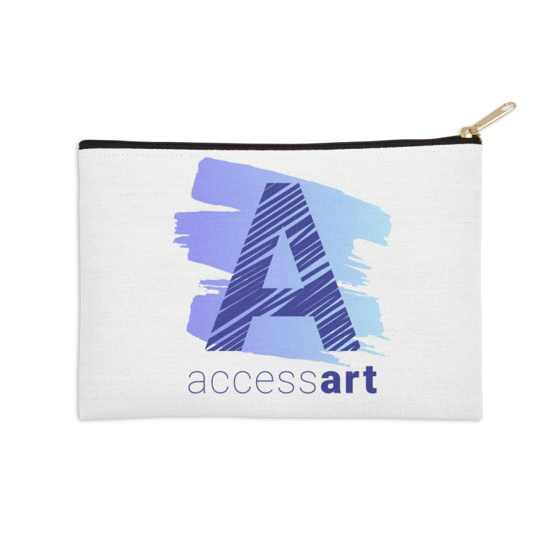 Access Art Connects Accessories Zip Pouch by Access Art's Youth Artist Shop