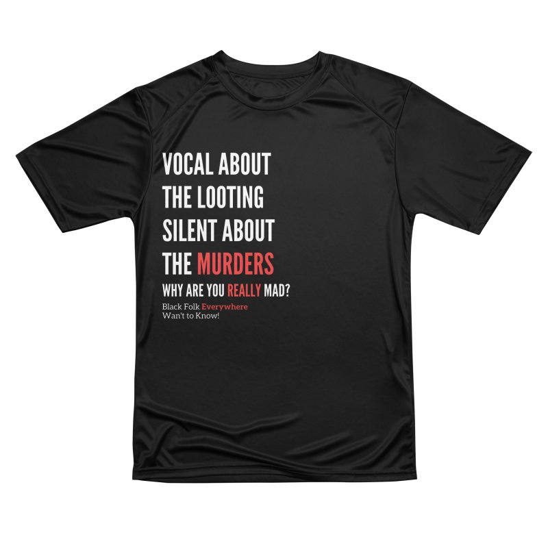 Vocal About Looting - Silent About Murder Women's T-Shirt by Accomplish That...      Boutique