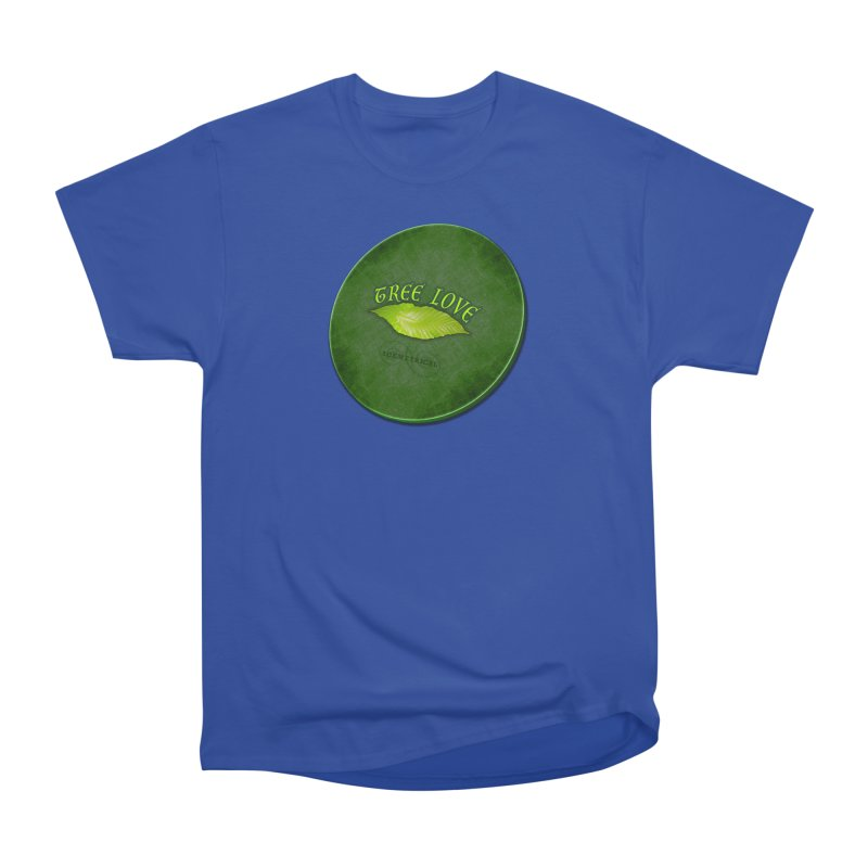Tree Love ( / ) Green Leaf Lips Men's Heavyweight T-Shirt by ACEMETRICAL ( / ) Disc Golf
